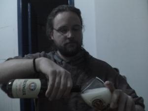 Serving a Weißbier part 2